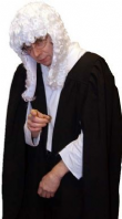 Judge Costume (Inc. Wig)